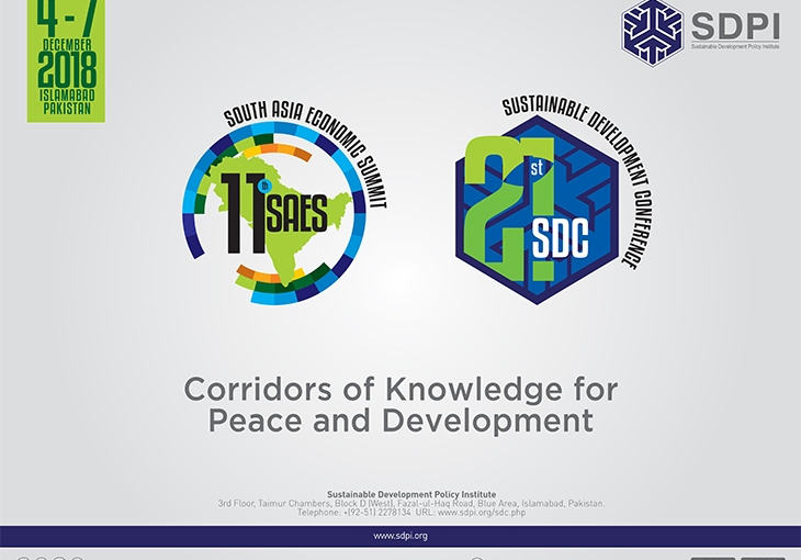 SDPI's Twenty-first Sustainable Development Conference (SDC) & 10th South Asia Economic Summit(SAES)