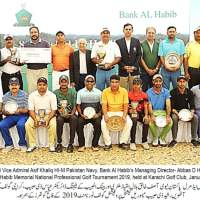 Matloob Ahmed wins Bank AL Habib's 8th Rashid D. Habib Memorial National Professional Golf Tournament 2019