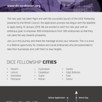 DICE Pakistan Fellowship announced