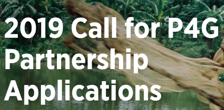 Applications Open for 2019 P4G Partnership Fund