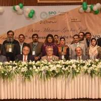 SPO's silver jubilee celebrations: President of Pakistan Dr. Arif Alvi graced the occasion as Chief Guest