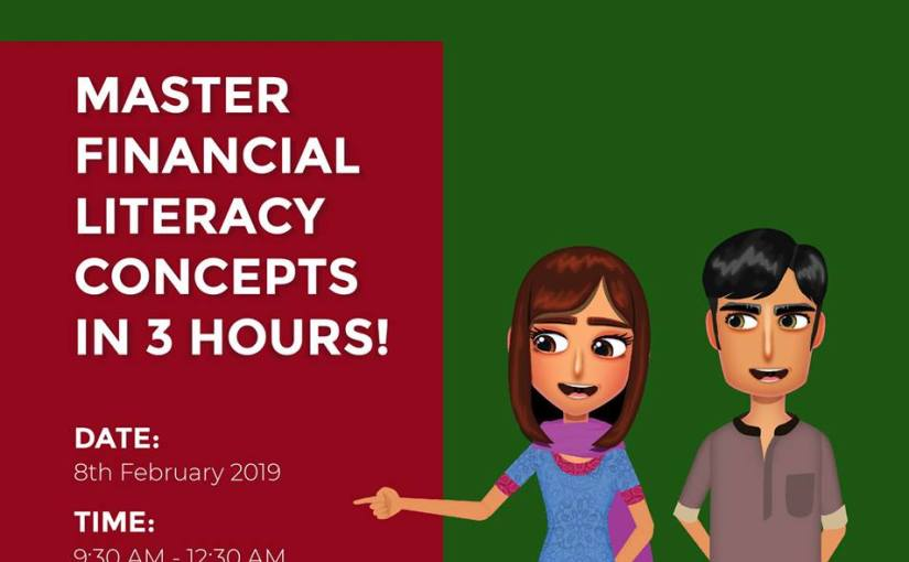 Free financial literacy workshop sponsored by the State Bank of Pakistan