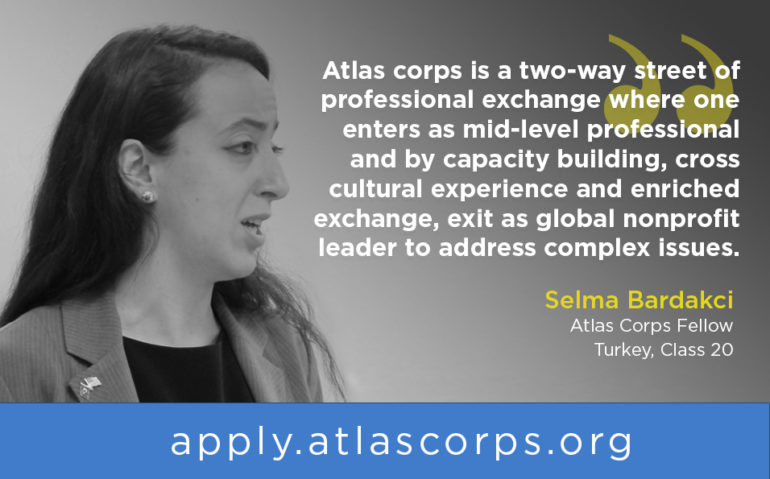 Atlas Corps Fellowship Progamme Open