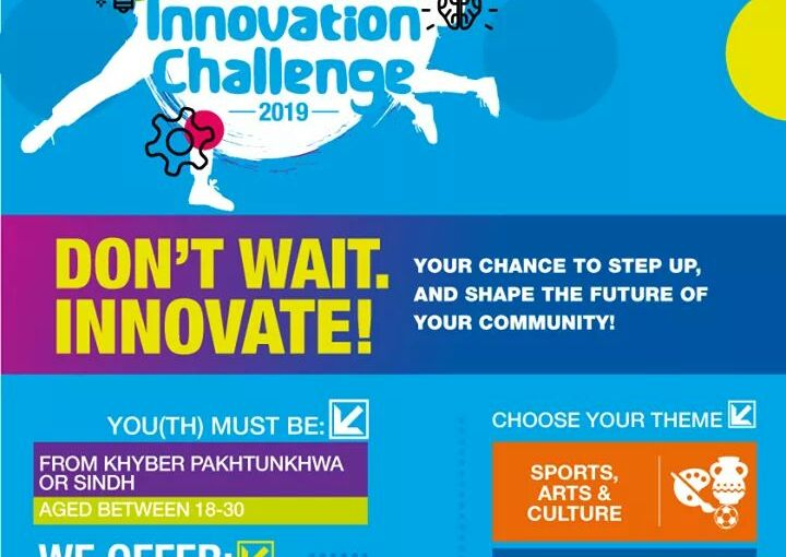 Youth Innovation Challenge open for youth from KP andSindh