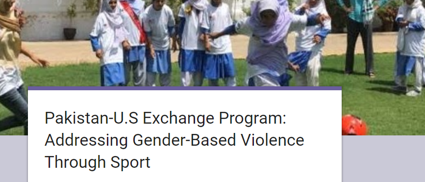 Exchange program aiming at addressing GBV through sports, announced