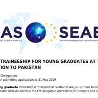 European Union announces traineeship program for young graduates in Pakistan